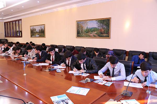 "OPEN DAY OF CJSC MDO ""IMON INTERNATIONAL"" IN TECHNOLOGICAL UNIVERSITY OF TAJIKISTAN"