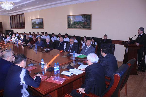 Научная конференция «Развитие пищевой промышленности в Республике Таджикистан» инженерно-технологического факультета