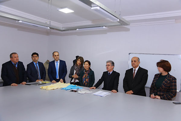 ITC builds knowledge of Tajik fashion professionals on modern dressmaking
