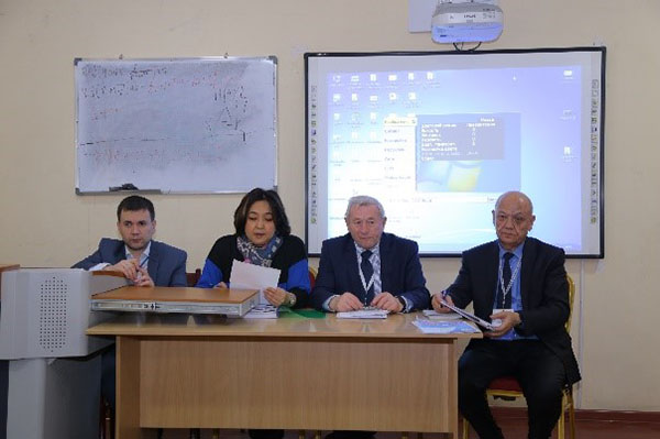 The second day of the External Expert Commission Independent agency for accreditation and rating of the Republic of Kazakhstan at the Technological University of Tajikistan