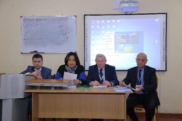 Второй день работы  Внешней экспертной комиссии Независимого агентства аккредитации и рейтинга Республики Казахстан в Технологическом университете Таджикистана