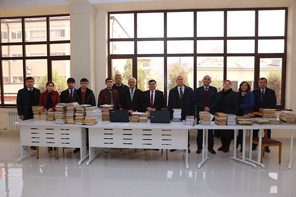 "PARTICIPATION OF THE FACULTY OF TECHNOLOGY AND DESIGN IN THE ""BOOK-GIFT ACTION"" of the Scientific Library TUT"