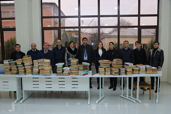 "PARTICIPATION OF THE FACULTY OF TELECOMMUNICATIONS AND PROFESSIONAL EDUCATION IN THE ACTION ""BOOK GIFT"" of the Scientific Library TUT"